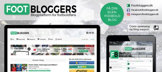 Blogplatformen Footbloggers.dk vil give plads til alle fodboldeksperter